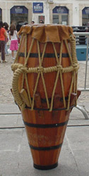 Atabaque, the drum of capoeira