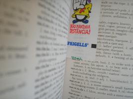 Capoeira lyrics are in Portuguese