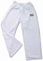 Typical capoeira pants called abadas