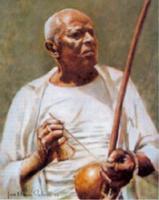 Famous capoeira master, Mestre Bimba