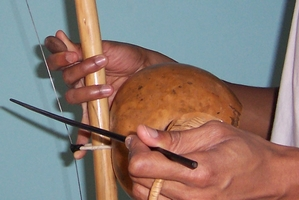 Open note of the berimbau