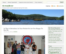 SuperBuff capoeira blog