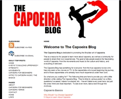 The Capoeira Blog