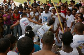 Capoeira Event packed with Capoeiristas