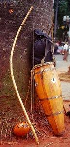 Capoeira music, an essential element of capoeira