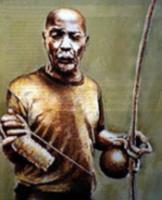 Famous capoeira master, Mestre Pastinha
