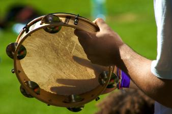 Panderio, the instrument of Brazil